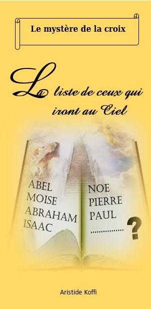 Brochure midod la liste de ceux qui iront au ciel